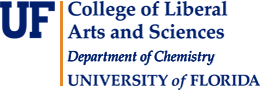 University of Florida Departrment of Chemistry