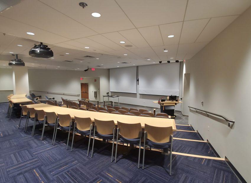 Sheridan Auditorium Room View