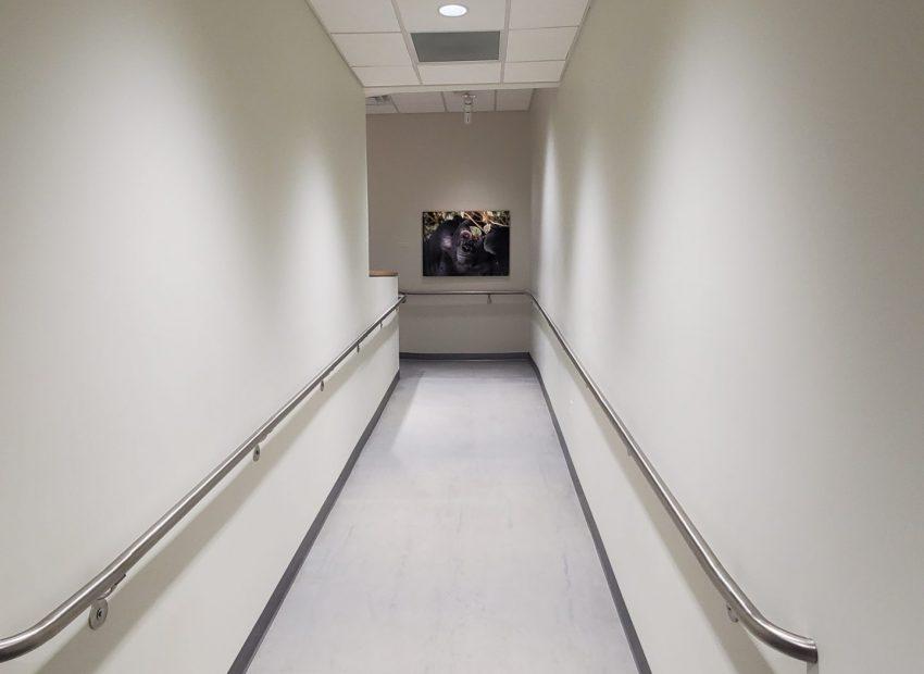 Sheridan Auditorium Accessible Walkway